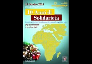 Image Dieci Anni di Solidarietà - 11 ottobre 2014