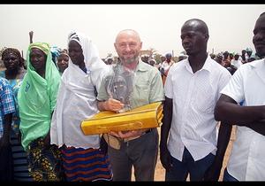 Image Giuseppe Baldi, responsabile Burkina Faso Fondazione Un Raggio di Luce